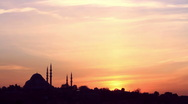 Sunrise in Istanbul Stock Footage