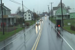 Amish Carriage On The Road, New Holland, PA Stock Footage
