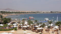 Naama bay. Sharm El Sheikh. Egypt Stock Footage
