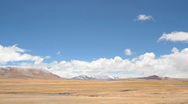 Stock Video Footage of Tibet landscape time lapse