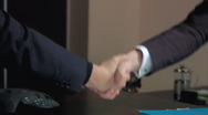 Stock Video Footage of Business handshake
