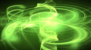 Glowing green motion background d2901 N Stock Footage