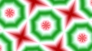 Stock Video Footage of Christmas Kaleidoscope Loop No. 3