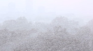 Stock Video Footage of Snow storm