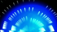 Blue tunnel and light in space,whirl fiber pattern.particle,Design,symbol,dream, Stock Footage