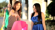 Luxury Shopping Lifestyle Stock Footage