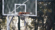 Basket play basketball streetball sport game action 2 Stock Footage