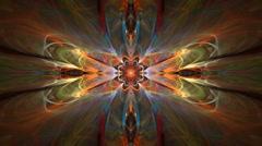 Butterfly kaleidoscope Stock Footage