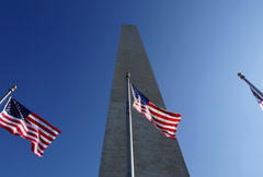 Washington Monument 05 NTSC Stock Footage