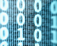 Binary Data Digital Display Loop PAL - stock footage