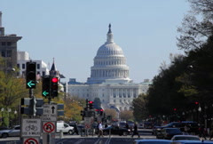 Capitol Bldg 05 NTSC Stock Footage