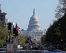 Capitol Bldg 05 PAL - stock footage