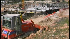 Construction work Stock Footage