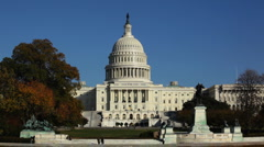Capitol Bldg 07 HD Stock Footage