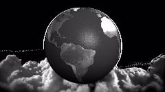 HDlg plane.orbit - stock footage