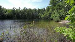 Lake cove - stock footage