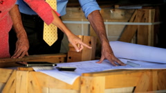 Architect & Client Stock Footage