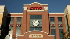 Newport on the Levee entrance Stock Footage