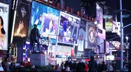 Stock Video Footage of NYC Time Square MVI 2172