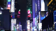 NYC Time Square - stock footage