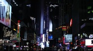 NYC Time Square Stock Footage