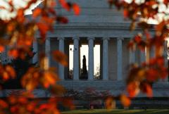 Jefferson Memorial 02 NTSC - stock footage