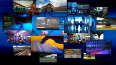 Business montage 1 Stock Footage