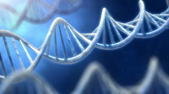 DNA helix macro view Stock Footage