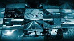 Transportation 1 - stock footage