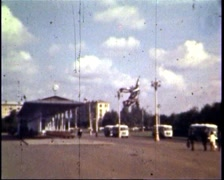 All-Russia Exhibition Centre, 50th years Stock Footage