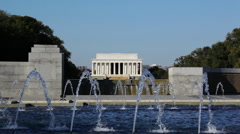 Lincoln Memorial 10 HD Stock Footage