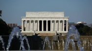Stock Video Footage of Lincoln Memorial 12 HD