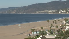 Santa Monica Bay, morning Stock Footage