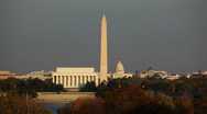 Stock Video Footage of Washington DC Skyline 02 HD