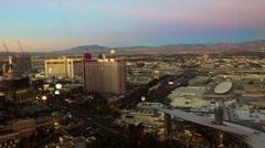 Lightup Las Vegas, timelapse - stock footage