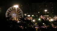 Stock Video Footage of Puerto Rico - HD Ferris Wheel and Amusement Park