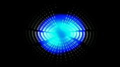Abstract science fiction,laser light space,tech hole tunnel,ray particle. Stock Footage