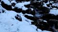 Winter 0032 High Mountains, Winter Season, Creek, Little River, Snow HD Footage