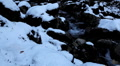 Winter 0030 High mountains, Creek, Winter Season, Snow, Little River, Spring HD Footage