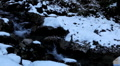 Winter 0033 High mountains, Creek, Winter Season, Snow, Little River, Spring HD Footage