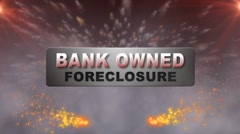BANK OWNED FORECLOSURE w Alpha Stock Footage