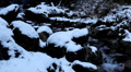 Winter 0035 High mountains, Creek, Winter Season, Snow, Little River, Spring HD Footage