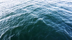 Lake waves Stock Footage