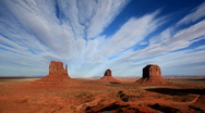 Stock Video Footage of Monument Valley.