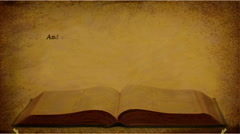 Matthew 21:22 KJV Stock Footage