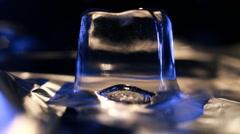 Melting ice Stock Footage