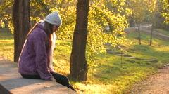 Autumn Solitude - stock footage