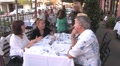 People Dining Out HD Footage