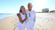 Senior Couple Confident of the Future Stock Footage