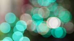 Teal and green filmic dots Stock Footage